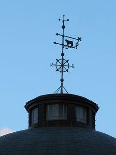 A weathervane in Boston