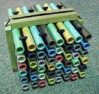 Custom color PVC pipe