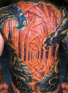 Aaron cain tattoo on pinterest tattoo artists dimebag for Aaron cain tattoo