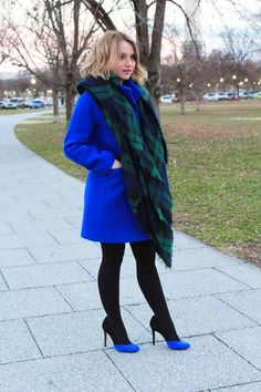 LoLus Fashion: Love This Outfit Gorgeous Plaid Oversized Scarf + ...