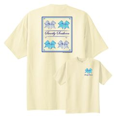 Check out our newest Sweetly Southern Bow t-shirt.  Available exclusively from www.underthecarolinamoon.com