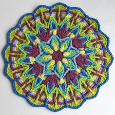 Crochet Overlay Mandala No. 1 Pattern PDF $6.16 on Etsy at http://www.etsy.com/listing/104510956/crochet-overlay-mandala-no-1-pattern-pdf