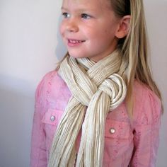 how to tie scarves ...