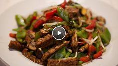 Gemarineerde tempé uit de wok | Aziatisch