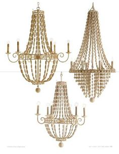 Arteriors Chandeliers (Available at Sofa Outlet)