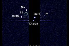Pluto Has a Fifth Moon, Hubble Telescope Reveals
