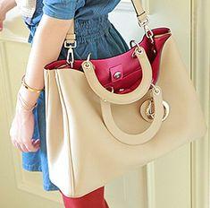Vintage bag PU handbag Messenger Bag
