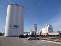 It's the JIFFY MIX Factory in Chelsea, Michigan. http://visitannarbor.org
