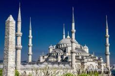 the Blue Mosque + Obelisk / For 91 Days