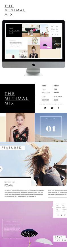 webdesign, minimal web design, interactive design, web design minimal, web ui, brand, minimal design, minim mix