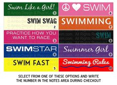SWIM STAR Swimming Ribbon Holder Great Gift Idea by AmboDesign