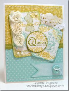 card idea, dscf4661, queens, girl card, creativecard viii, stampinupestablish eleg, mothers day cards, general card