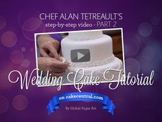 cake tutorial, cake decor, wedding cakes, cake central