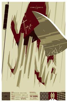 """""""The Shining"""" by Tom Whalen (www.strongstuff.net)"""