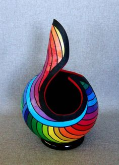 Wow.....Colorful gourd