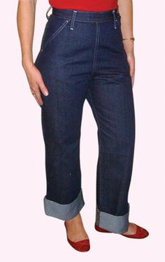 50's style Jeans