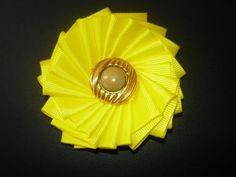 Manualidades y accesorios la hormiga. como hacer una flor en cintas. video No.057 - YouTube