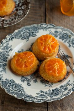 Winter Solstice:  #Mini #Clementine #Upside #Cakes, for the #Winter #Solstice, by drizzleanddip.