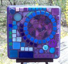 Abstract Mosaic Wall Art.