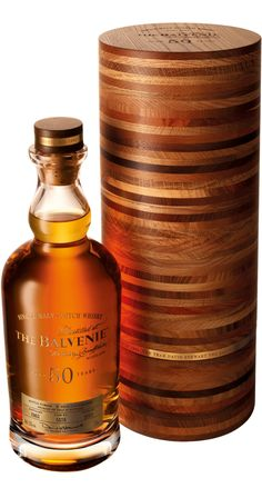 The Balvenie Fifty Single Malt Scotch Whisky ~ 50 year old Speyside with only 88 bottles produced globally!