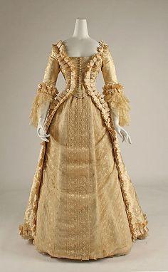 Wedding Dress, early 1880s, American - the MET
