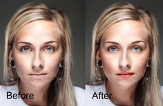 How to Apply Makeup to a Model in Post-Production Using Adobe Photoshop - Would just like to try this sometime.
