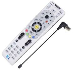 DIRECTV RC66RBK Universal Backlit RF Remote Control with Antenna