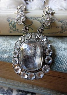 'renaissance' necklace by The French Circus on Etsy