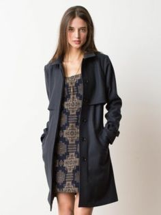 NYSSA TRENCH COAT