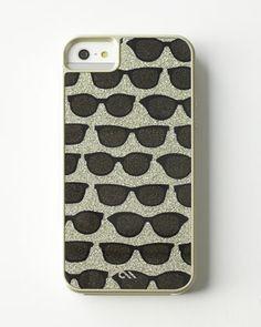 Glam Print Sunglasses iPhone 5/5s Case at Neiman Marcus.
