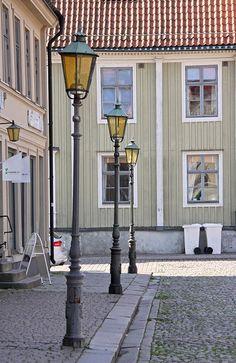 Street in Kalmar, Sweden