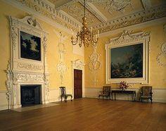 dining rooms, georgian, interior, dine room, parks, kirtlington park, wedding cakes, art history, park room