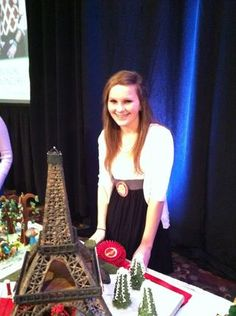 Eiffel Tower   National Gingerbread House Competition Winners on Display: Grove Park Inn Photo-101  southernliving.com