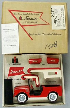 International Scout toy