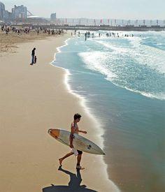 Durban beach, South Africa