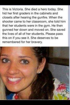 Wow. A true hero.