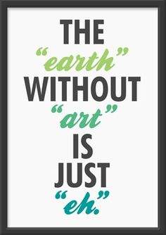 """earth"" without ""art"""
