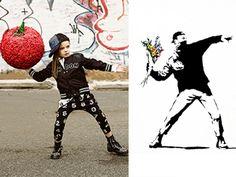 Banksy as kid, imagined by Babesta. Meet Pranksy! #kids #fashion #banksy #pranksy