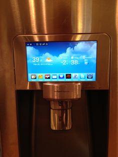 Samsung's Android-powered refrigerator RF4289HARS