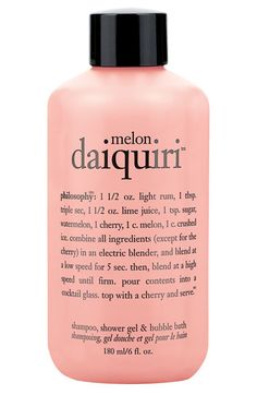 philosophy 'melon daiquiri™' shampoo, shower gel & bubble bath (Buy & Save) available at #Nordstrom