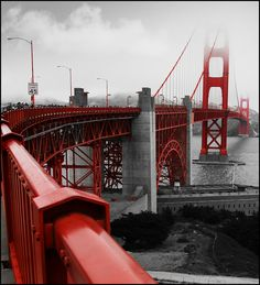 Golden Gate Bridge, SF by A.Hulot. S)
