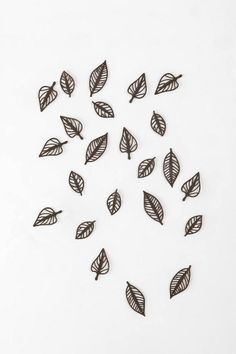Falling Leaves Wall Decor - Set of 24  #UrbanOutfitters