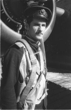 Russian Pilot from World War II