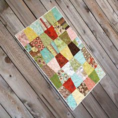 Tumbler quilt in Curio by BasicGrey for Moda