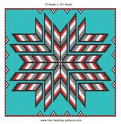 Native American Beading Pattern
