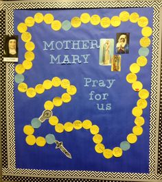 Bulletin board posters for lent