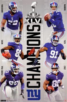 2012 Super Bowl - Champs- New York Giants