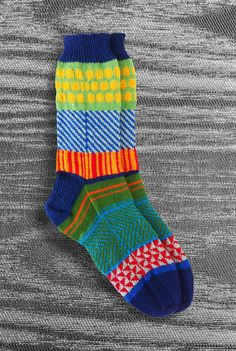 Hand Knit Socks Holiday Gift for Men Women Teen Washable by LizSox