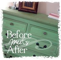 Ideas for redoing old furniture