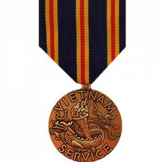 The Civilian Service in Vietnam Medals (SCVNM) is awarded by the Department of Defense to any civilian who worked for, or in a department operated by, the U.S. Department of State for a year (aggregate) or more in Vietnam anytime after January 1st, 1962.